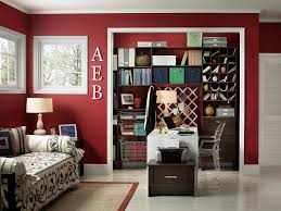office in a closet design. Fine Closet Wall Closet Design Ideas Home Office Contemporary With White Desk Green  Fabric Bin Mail Slot Inside Office In A Closet Design 0