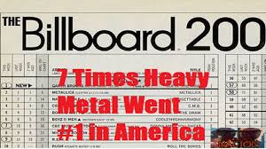 7 Times Heavy Metal Topped The Billboard Charts In America