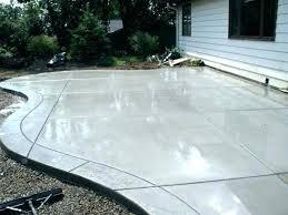 backyard concrete designs. Exellent Designs Backyard Concrete Designs With  Photo 4 Stamped On P