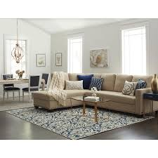 leather sectional living room furniture. add ample seating along with a heightened sense of style to your living area this beige sectional from abbyson living. constructed kiln-dried leather room furniture d