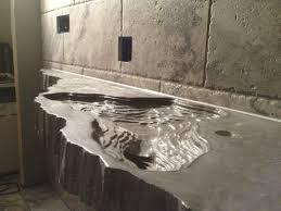 sink pictures custom modern concrete countertops provide a unique alternative to granite