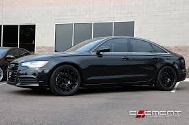 black audi. eurotek 02 19x85 black wheels on 2013 audi a6 w specs n