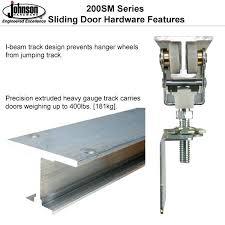 heavy duty sliding door track designs inside barn decor 9