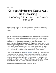 nacac essay writing tips powerpoint