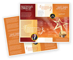 Best Brochure Templates Star Of The Best Brochure Template Design And Layout