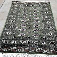 x6 green oriental rug dark