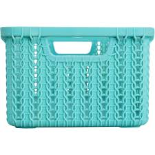 <b>Корзинка для хранения</b> «<b>Вязание</b>», 3 л, цвет морская волна в ...
