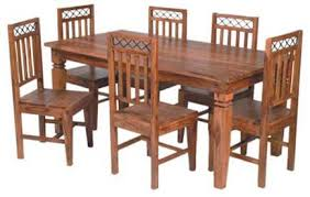 dining set wood. cross iron jali dining table set wood