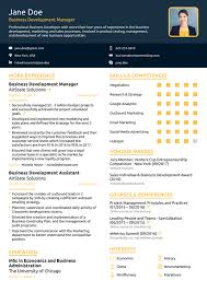 sample of one page resume