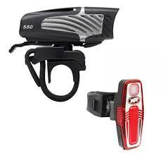 Niterider Lumina Micro 550 Headlight Sabre 80 Tail Light Combo Lights Reflectors