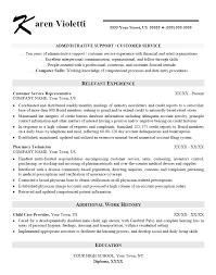 sample resume for customer service representative in retail Skills Based Resume  Template Administrative Assistant