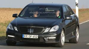 Hauling more than your family. 2010 Mercedes Benz E63 Amg Now Testing Virtually Undisguised