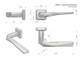 gl door handle embly drawing