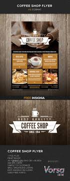 Coffee Shop Brochure Template 24 Best Coffee Shop Flyer Print Template PSD Images On 15