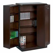 36 Cd Storage Cabinet, Cd Storage Cabinet With Doors Tower Cd/dvd ...