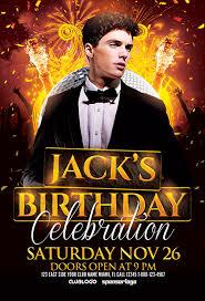 celebration flyer template. Download Birthday Celebration Flyer Template for Photoshop