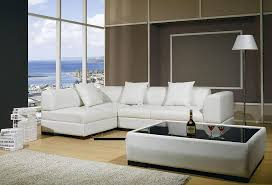 Leather Modern contemporary Sectional Sofa 03 Leather Sectionals