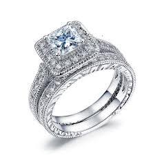 2019 <b>Everoyal</b> Top Quality <b>Silver</b> 925 Rings For Girls Bride Wedding ...