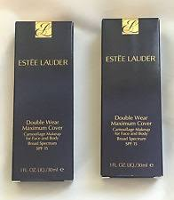 nib estee lauder double wear maximum cover camouflage makeup spf rattan vanilla