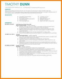 Cv For Retail Jobs Retail Job Resume Templates For Retail Retail Job