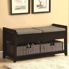 Hall Bench In Powder Black Finish With Fern Green Upholstery 2Black Hall Bench