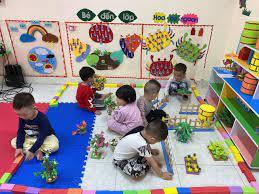 Hoạt động vui chơi của các bé lớp 3-4 tuổi C1 - trường ...