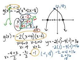 showme factored form example last thumb14595 parabola of a quadratic equation calculator 840