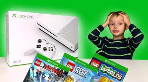 XBOX wysłał nam XBOX'a!? + LEGO Ninjago Movie, LEGO City Tajny Agent i LEGO  Worlds! - YouTube