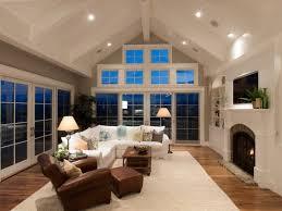 lighting for sloped ceilings. recessed lighting for vaulted ceilings family room corner sofa fireplace sloped