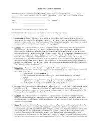 Independent Contractor Agreement Template Independent Contractor Contract By Brittanygibbons Contractor
