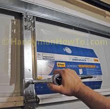 garage door reinforcement strut elegant genie garage door bracket gallery door design for home