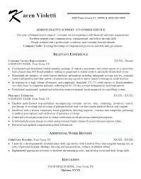 Administrative Assistant Objective Resume Thrifdecorblog Com