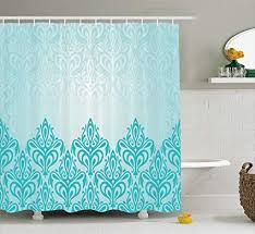 Turquoise Decorative Accessories Stunning Amazon Ambesonne Turquoise Decor Shower Curtain Set Decorative