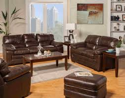 Leather Chairs Living Room New Classic Archer Tobacco Top Grain Leather Living Room Set By
