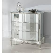 Bedroom Mirrored Nightstand Cheap With Cheap Mirrored Bedroom