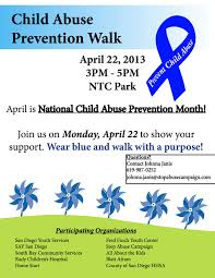 child abuse flyers child abuse prevention walk april 22 2013 kpbs