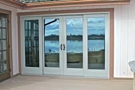 3 panel glass door 3 panel door exterior medium size of 4 panel sliding glass door