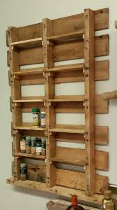 Kitchen Spice Rack Super Easy Spice Rack Cross Slats Could Be Positioned To Hide