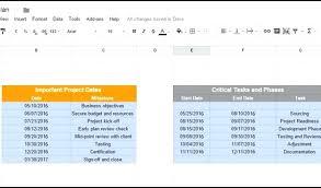 Download Gantt Chart Template Google Spreadsheet Gantt Chart Template Download By Tablet Desktop