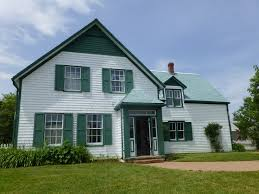Green Houses White Trim House Ideas