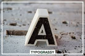 3d printed letters and symbols with soil typogry 3d yianart