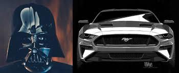 Mustang Designer Ford Designer Says Darth Vaders Helmet Inspired The 2018