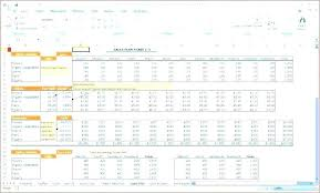 Financial Forecast Template Template Sales Forecast Template Free