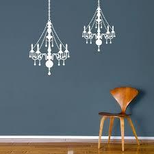 black chandelier wall decal chandelier earrings
