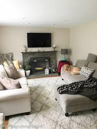 Living Room Make Over Exterior Interesting Decorating