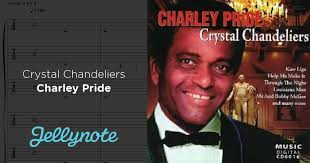 crystal chandeliers charlie pride chandelier family live concert singer karaoke charley pride crystal