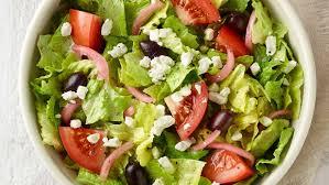 panera greek salad