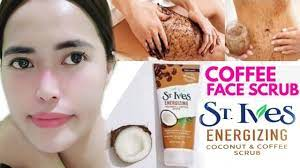 Squeeze a dime sized amount of energizing coconut & coffee face scrub onto your fingertips and massage onto damp skin.2. Review St Ives Energizing Coconut Coffee Scrub Youtube