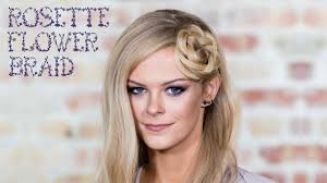Hair Style Braid simple rosette flower braid hairstyle tutorial for medium to long 8607 by wearticles.com