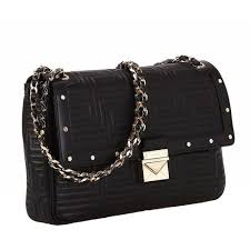 New GIANNI VERSACE COUTURE black quilted leather shoulder bag at ... & New GIANNI VERSACE COUTURE black quilted leather shoulder bag at 1stdibs Adamdwight.com